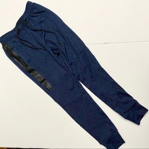 AE Joggers Drawstring Zip Pockets XS Women's Blue